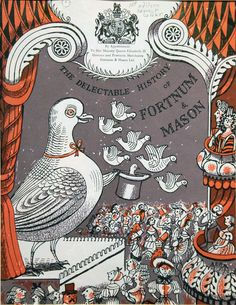 Promotional material for Fortnum and Mason by Edward Bawden