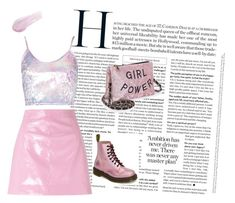 Untitled #33 by sonakartashyan on Polyvore featuring polyvore Miss Selfridge Dr. Martens Lipstick Queen fashion style clothing