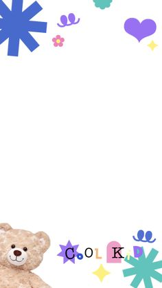 Cute Pastel Wallpaper, Cute Patterns Wallpaper, Wallpaper Iphone Cute, Cute Wallpapers, Instagram Story Template, Instagram Story Ideas, Cute Picture Frames, Overlays Cute, Doodle Frames
