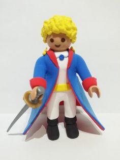 FIGURA PLAYMOBIL CUSTOM El Principito - Le Petit Prince - CINE CUENTOS LIBROS