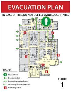24 Best Evacuation Map images | 지도, 간판 디자인, 지도 디자인