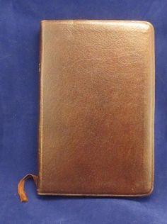 Brown Cambridge University Press Berkshire Genuine Leather KJV Text Bible
