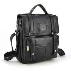 Check it on our site Men Genuine Real Cow Leather Handbag Multi Compartment Top Handle Shoulder Cross Body Bag Messenger Satchel Casual Daily Flap just only $63.99 with free shipping worldwide  #crossbodybagsformen Plese click on picture to see our special price for you