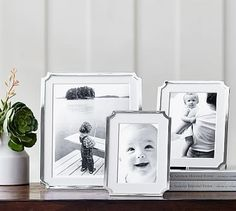 Abigail Silver-Plated Frames #potterybarn