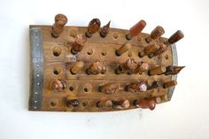 "POMA - ""Fifty Gates"" - Wine Barrel Bottle Stopper Holder - 100 ..."