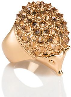 Shop Women's kate spade Gold size OS Rings at a discounted price at Poshmark. Description: Into the woods hedgehog ring size In excelent condition, only women once. Sold by felitoledo. Fox Jewelry, Pearl Jewelry, Jewelry Accessories, Pearl Rings, Jewellery, Jewelry Rings, Kate Spade Rings, Fox Ring, Mini Pendant