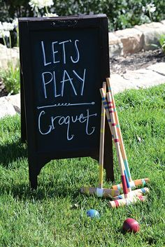 Guests enjoyed a picture-perfect late afternoon sipping Tattinger champagne and playing croquet at Santa Barbara Magazine's Summer Lawn Party. Croquet Party, Lawn Party, Tea Party, Santa Barbara, Gifts For Photographers, Practical Gifts, Outdoor Christmas Decorations, The Hamptons, Gaming