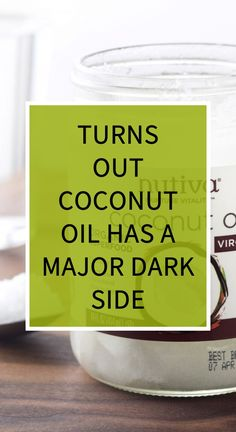 Turns Out Coconut Oil Has A Major Dark Side Natural Teething Remedies, Natural Cold Remedies, Herbal Remedies, Health Remedies, Home Remedies, Health And Wellness, Health Tips, Cocamide Dea, Avocado Health Benefits