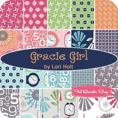 Gracie Girl Fat Quarter Bundle Lori Holt for Riley Blake Designs - Fat Quarter Shop