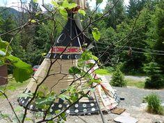 Packwood Vacation Rental - VRBO 295706 - 0 BR Mount Rainier Lodge in WA, Authentic Tatoosh Tipi