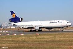 D-ALCF, Bild vom 25.08.2016 in Frankfurt (FRA), CN 48789, MD 11F, Lufthansa Cargo