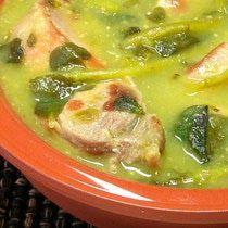 Carne de puerco con verdolagas en salsa verde