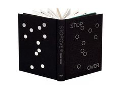 Cover of 'Stopover' by Bruce Connew, 2007. Published by Victoria University Press. Design – Catherine Griffiths.