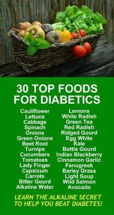 30 Top Foods For Diabetics. Are you trying to lose weight? Our incredible alkaline rich, antioxidant loaded, weight loss products help you burn fat and lose weight more efficiently without changing your diet, increasing your exercise, or altering your lif