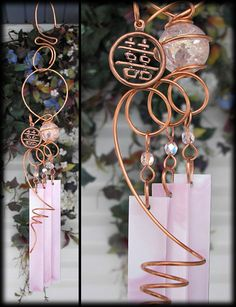 Wind Chimes...I think this tubing is easy to work with & lends itself to many nice options