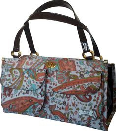 PuchiBag Gabster Paisley Travel Pet Carrier, Orange *** Check this awesome product by going to the link at the image.