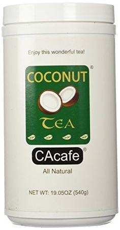 Cacafes Coconut Tea in Jar Shop now: https://www.CAcafe.com/coconut-tea