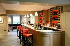 Gastro Pub | The Three Fishes interior design by Ward Robinson | Ribble Valley | Bar