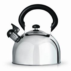 Stove Kettle | Stove Top Whistling Kettle  Part of the Cafe Ole range from Grunwerg this impressive stainless steel kettle has a large 3 litre capacity. Can even be used on induction hobbs