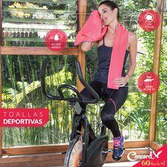 ¿Tu propósito de año nuevo fue ir al GYM? Prepárate con la increíble toalla deportiva 💪👟 Secado rápido, suavecita y sin pelusa. ¿Qué esperas? ve por ella ahora 👉 goo.gl/WwrrSo  #TodosSomosConcord #OrgullosamenteConcord #60AñosConcord #BlancosConcord Concord, Gym Equipment, Bike, New Year's Resolutions, Towels, Sports, Bicycle, Bicycles, Workout Equipment