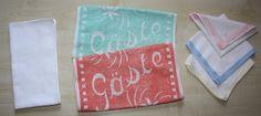 Müll reduzieren im Haushalt Teil 1. - Alternativen zu Papierservietten, Küchenrolle und Papiertaschentüchern