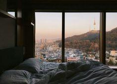 Home December 12 2019 at Apartment Goals, Dream Apartment, Apartment View, Apartamento New York, Seoul, Dream Bedroom, Night Bedroom, Nature Bedroom, Pool Bedroom