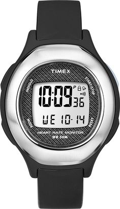 Timex Timex Health Touch HRM Watch - Black/Silver *** Check out this great product.