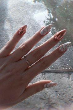 Summer Nail Art 464011567858715740 - Gel Nails 83 most popular trendy summer nails art designs ideas to look charming 55 el… 83 Most Pop Source by demonayb Gold Nail Art, Rose Gold Nails, Cute Acrylic Nails, Cute Nails, Gel Nails, Nail Nail, Nail Polish, Coffin Nails, Marble Nail Art