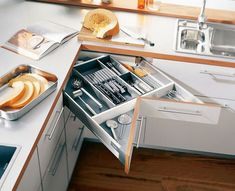 40 intelligent Space Saving Solutions and Storage Ideas - Page 3 of 7 Bedroom Furniture Redo, Space Saving Furniture, Kitchen Furniture, Furniture Stores, Furniture Ideas, Furniture Websites, Furniture Companies, Cheap Furniture, Luxury Furniture