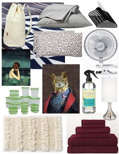 10 Must-Have Dorm Room Essentials — Back to School 2012   Apartment Therapy
