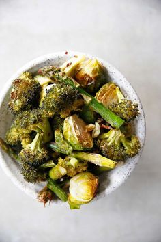 Garlic Roasted Vegetables {Paleo friendly and Whole30 Compliant) | Lexi's Clean Kitchen