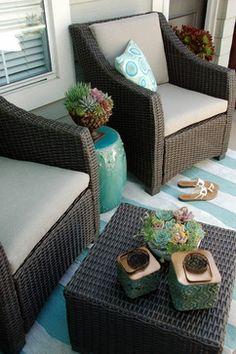 Balcony Makeover - contemporary - patio - orange county - Living Gardens Landscape Design
