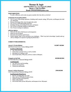 Server Skills Resume Glamorous Lounge Server Sample Resume Human Resources Coordinator Cover 2018