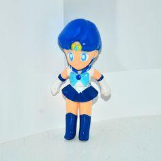 Sailor Mercury figurine action figure Sailor Moon Japan #Bandai