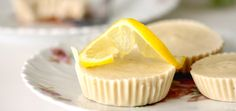 Decadent But Healthy Mini Lemon Cheesecakes (Vegan!)