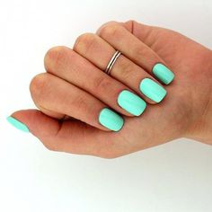Bright Summer Acrylic Nails Discover sterling silver knuckle ring Simple line striped design above knuckle ring adjustable midi ring also toe ring Bright Summer Acrylic Nails, Cute Summer Nails, Best Acrylic Nails, Acrylic Nail Designs, Spring Nails, Cute Nails, Pretty Nails, My Nails, Summer Nail Colors