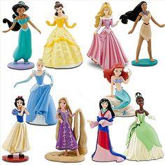 Deluxe Disney Princess Figure Play Set -- 10-Pc.    Buy me this...