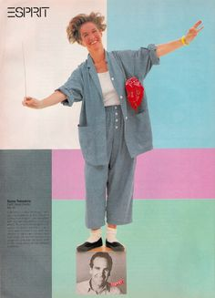 80's Esprit Advertisement - Featuring Susie & Doug Tompkins