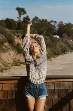 freepeople:The Wooden House On The Beach