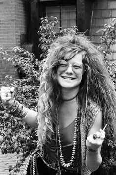 Janis Joplin (January 19, 1943 – October 4, 1970)