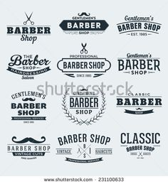 Find barber shop stock images in HD and millions of other royalty-free stock photos, illustrations and vectors in the Shutterstock collection. Barber Shop Names, Barber Sign, Barber Shop Decor, Logo Barbier, Barbershop Design, Barbershop Ideas, Shop Signage, Etiquette Vintage, Shop Logo