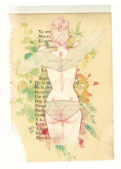 adarasanchez: Romance VII.*Based on a photograph by Álvaro Cantero. **A present for my dear friend jelloworld .