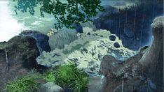 HD wallpaper: The Garden of Words, anime, animation, Makoto Shinkai, waterfall Name Wallpaper, Modern Wallpaper, Cityscape Wallpaper, Waterfall Wallpaper, The Garden Of Words, Anime City, Small Waterfall, Diy Art Projects, Character Wallpaper