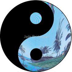 Palm Tree Yin Yang - Tumblr
