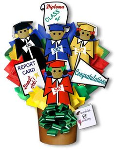 Decorated Cookies Gift | Congratulations Graduate Hand Decorated Cookie Bouquet Gift Basket ...