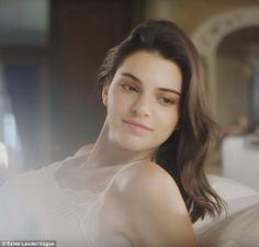Fixed: She seems happy with her beauty sleep at the end of the ad