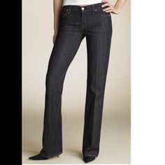 """7 FAM... Size 26 flare NWOT NWOT Flare in mercer wash. Inseam: 33""""  Rise: 8""""  Flare: 20"""". 7 for all Mankind Jeans Flare & Wide Leg"""