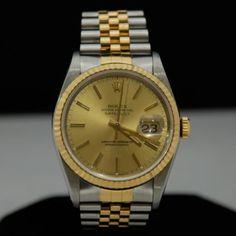 Men's Rolex Watch, Model #16233, Jubilee 2 Tone Bracelet. *SOLD*