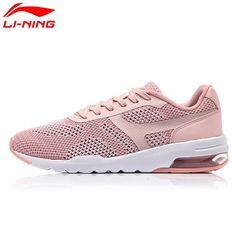 38.49$  Buy here - http://alii9i.shopchina.info/go.php?t=32811635012 - Li-Ning Original Women's Bubble Up Knit Walking Shoes Summer MONO YARN Cushion LiNing Sports Shoes Sneakers AGCM046 38.49$ #aliexpresschina