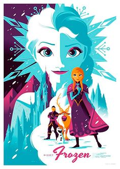Frozen Movie Poster, available at 45x32cm. This poster is printed on matt coated 350 gram paper.